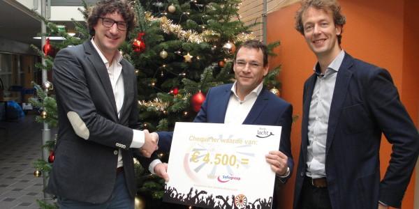 Safegroup ontvangt 4.500 Euro in donaties van Ronde Tafel 21 Breda