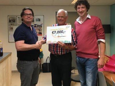 De Voedselbank Breda ontvangt 7.000 Euro van Ronde Tafel 21 Breda