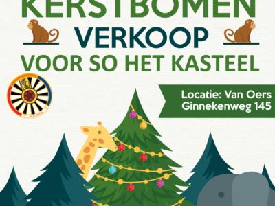 Kerstbomen verkoop – vanaf 08:30 – 8 december 2018 – Ginnekenweg 145
