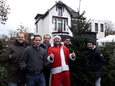 Opbrengst Kerstbomenverkoop en Kluitfunding